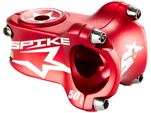 Spank Spike Race Stem Ø31.8 mm shotpeen red